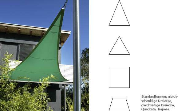 Caravita Sonnensegel standard segel rollladen markisen jalousien service in